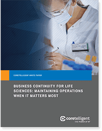 Business Continuity for Life Sciences