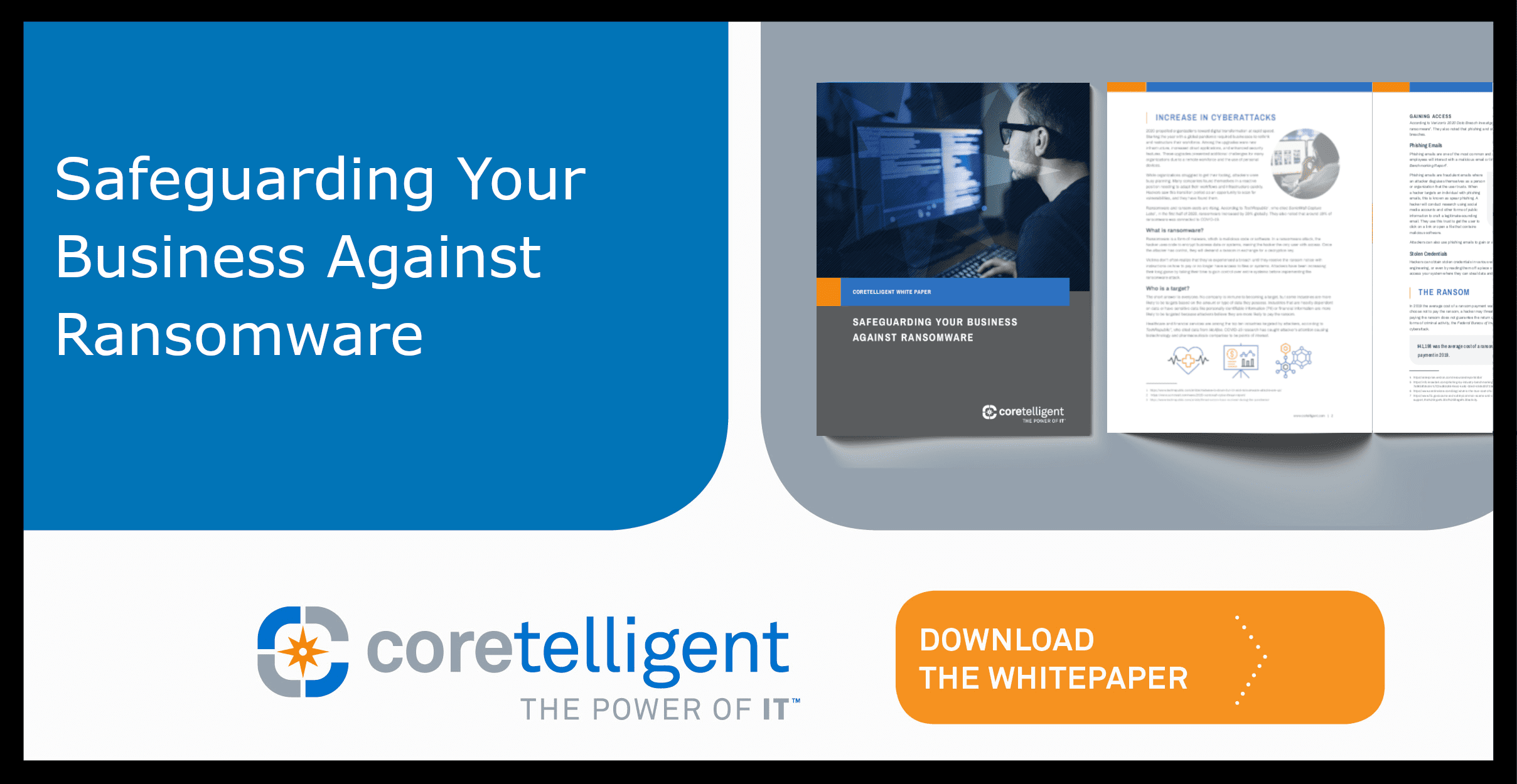 Safeguarding Your Business Against Ransomware Whitepaper