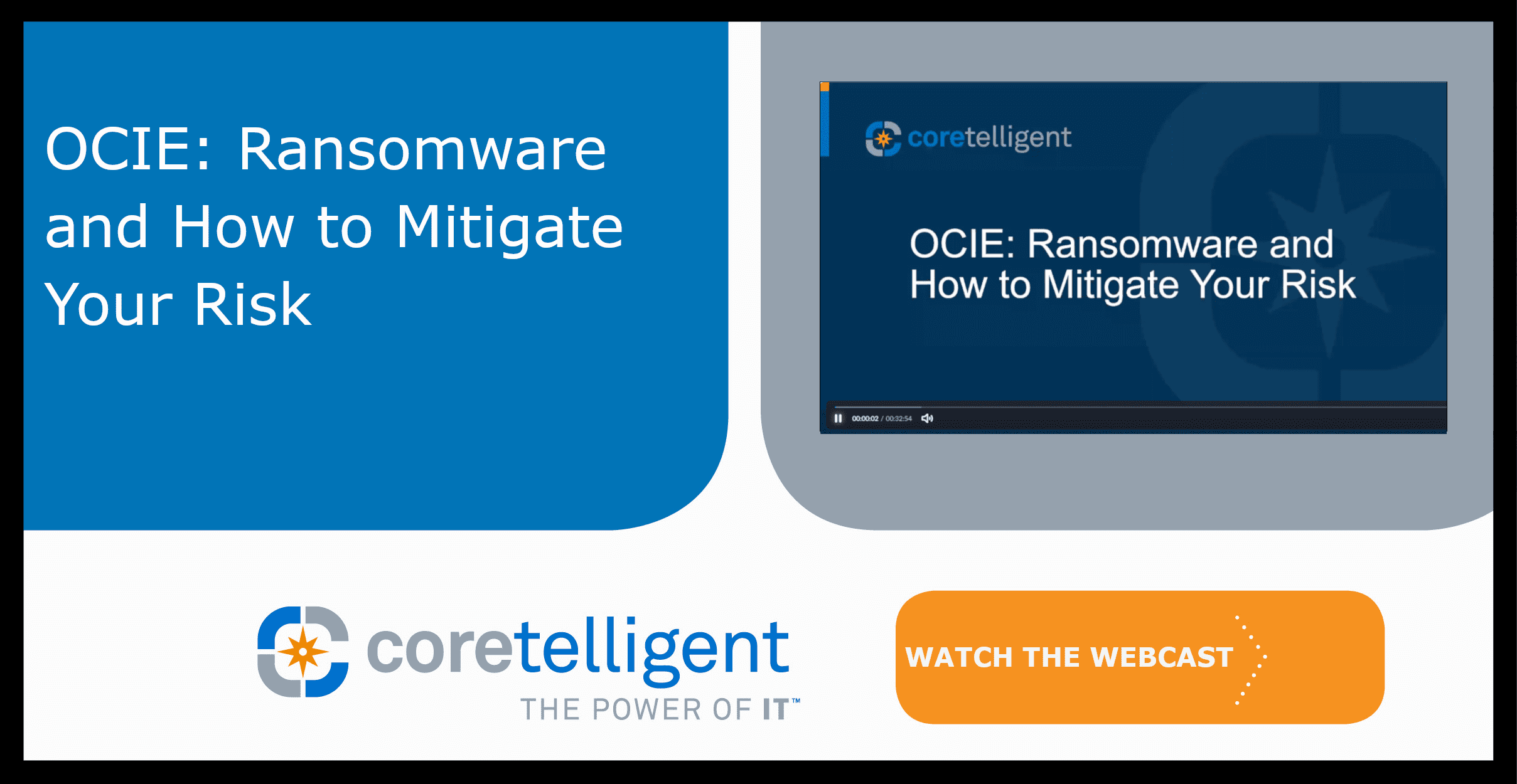 OCIE Ransomware and How to Mitigate Your Risk Webcast