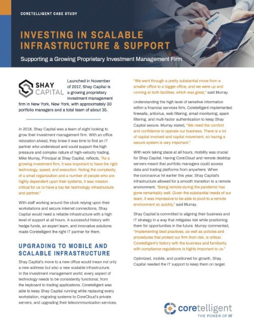 Investing In Scalable Infrastructure & Support