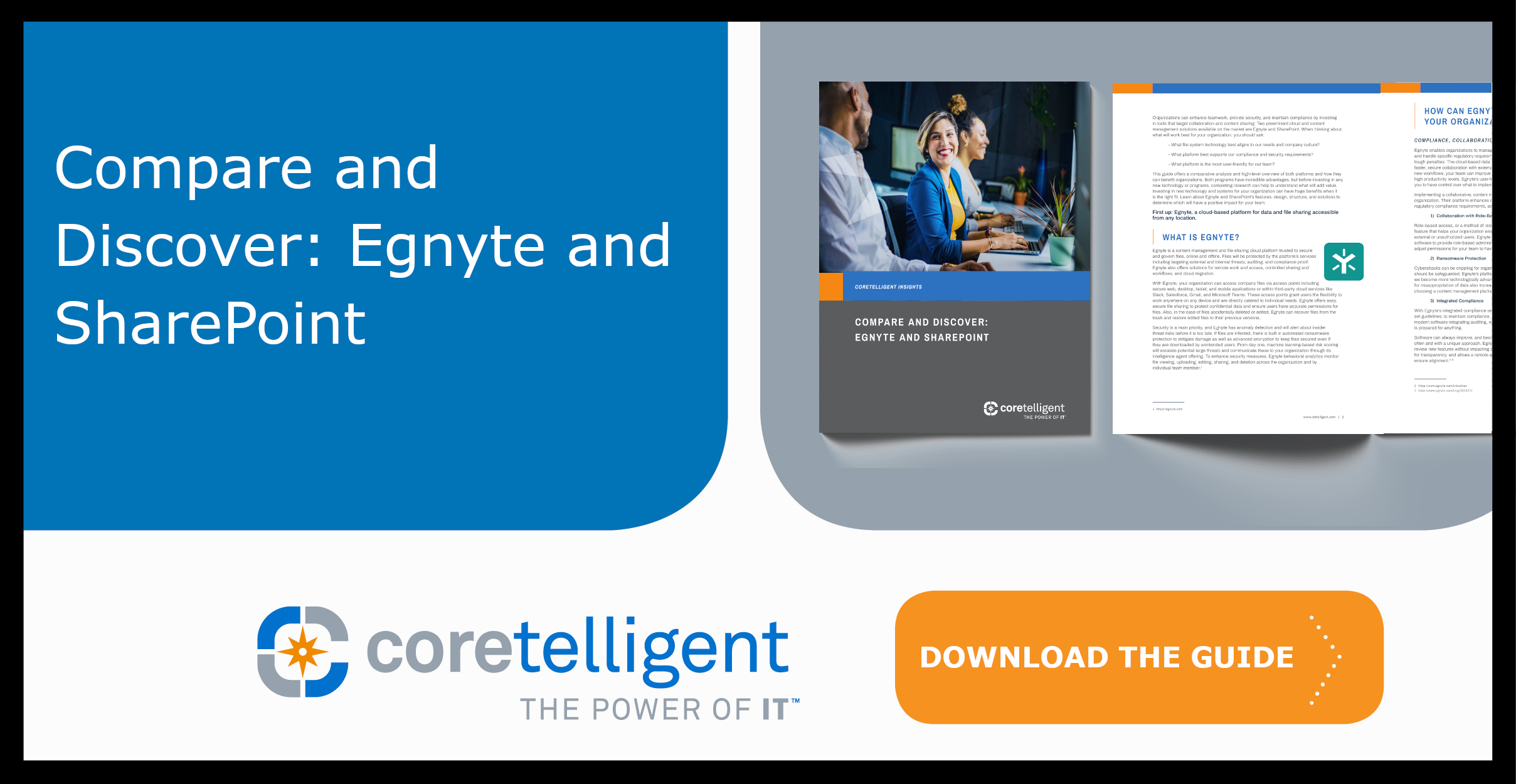 Compare Egnyte and SharePoint