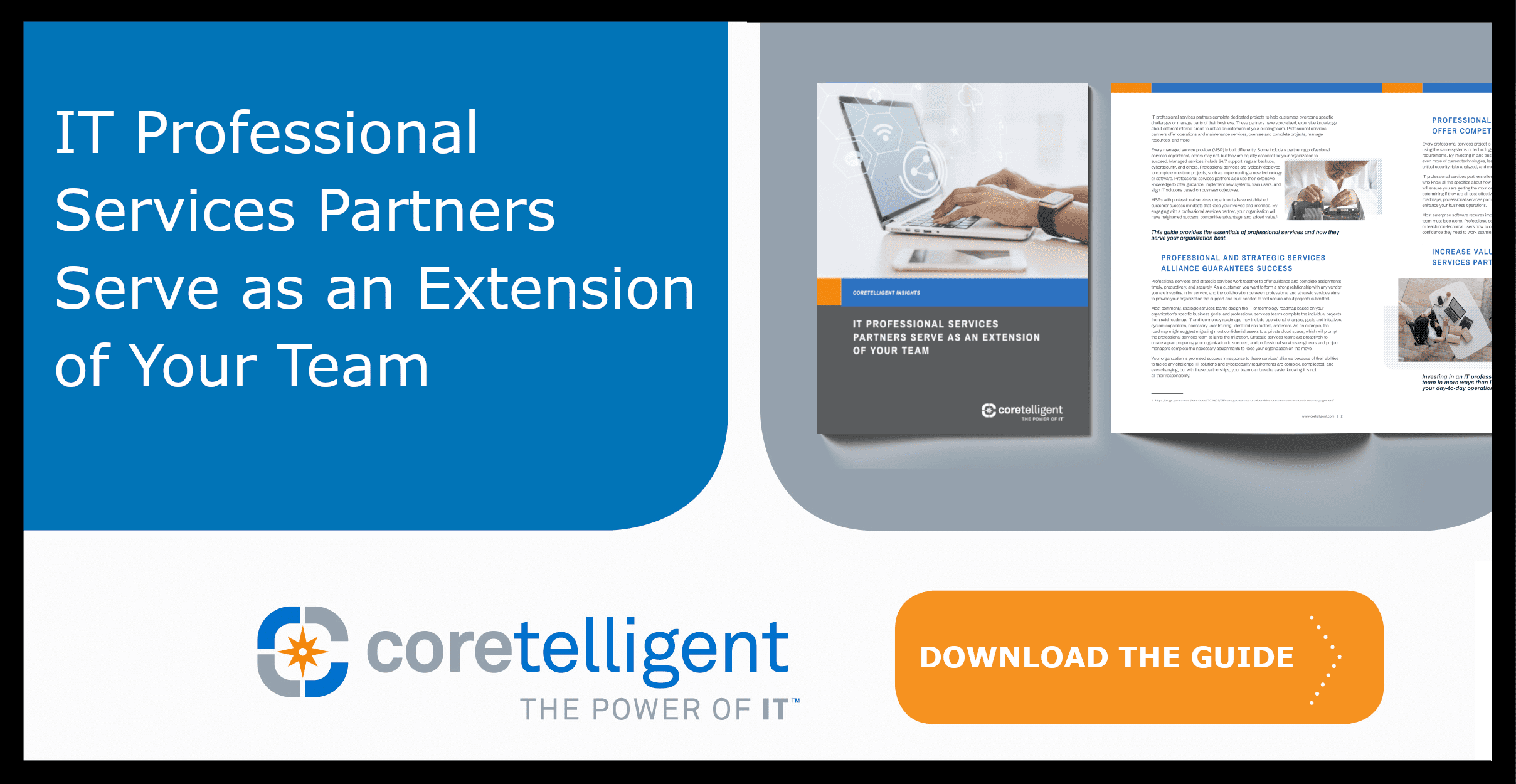 IT Professional Services Partners Serve as an Extension of Your Team