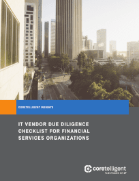Financial Services Due Diligence Checklist