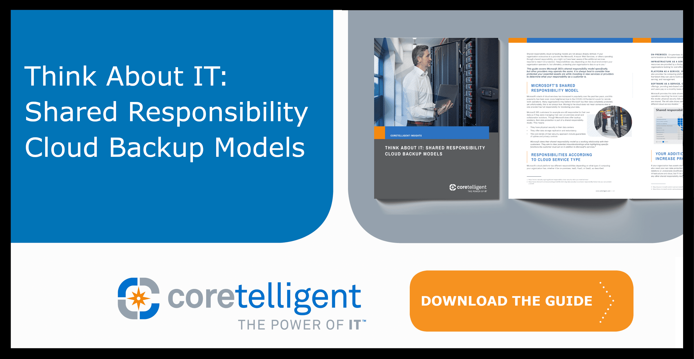 Shared Responsibility Cloud Backup Models