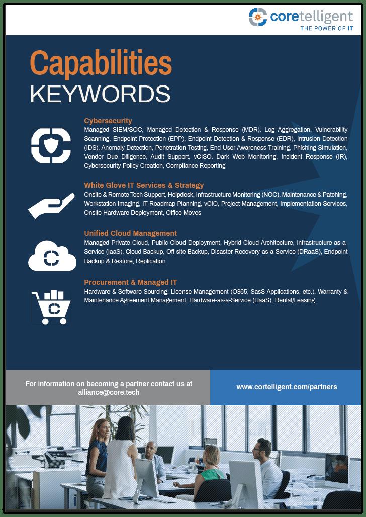 Capabilities Keywords