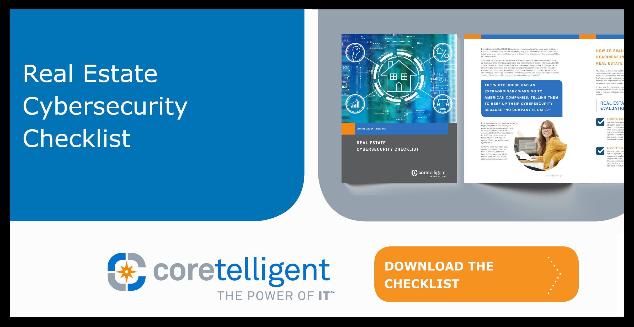 Real Estate Cybersecurity Checklist
