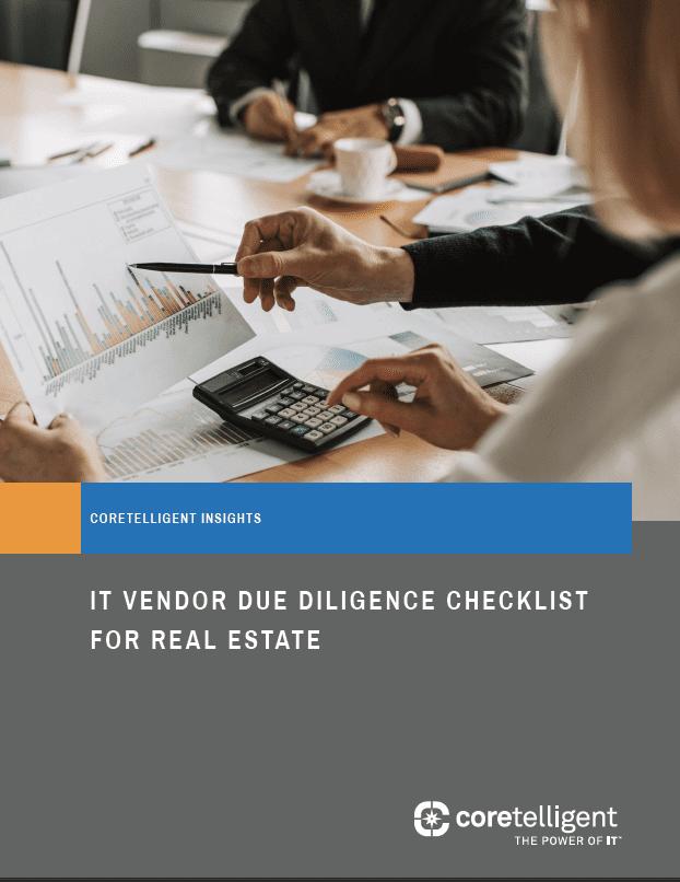 IT Vendor Due Diligence Checklist for Real Estate
