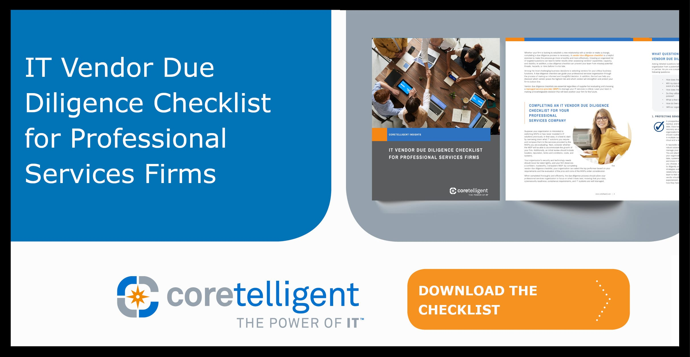 IT Vendor Due Diligence Checklist for Professional Services Firms
