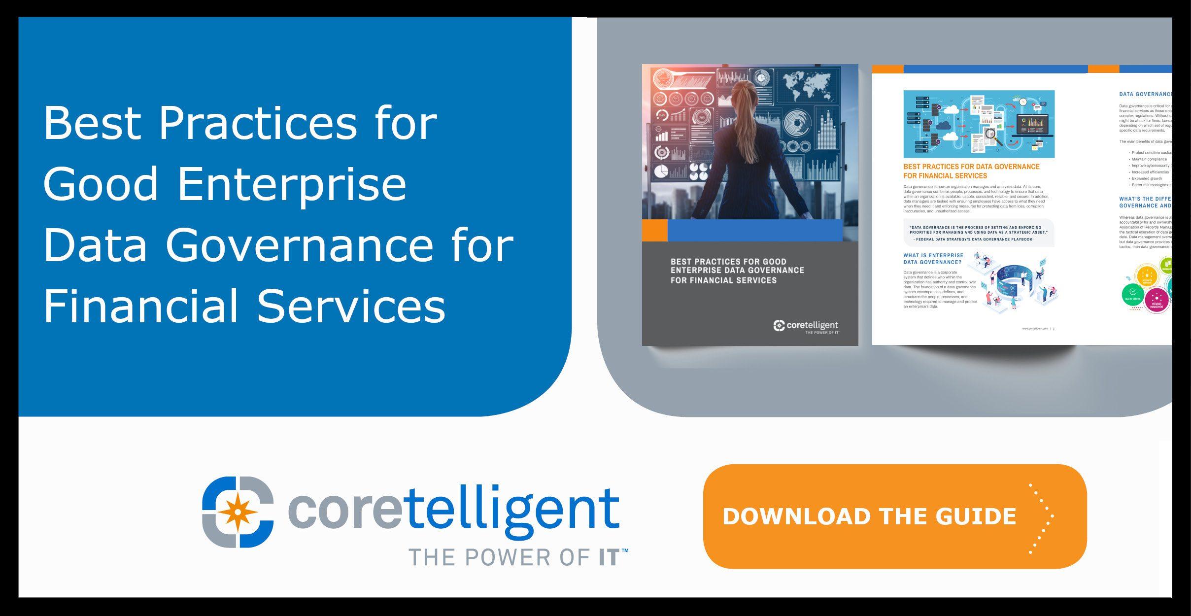 Best Practices for Good Enterprise Data Governance for Financial Services