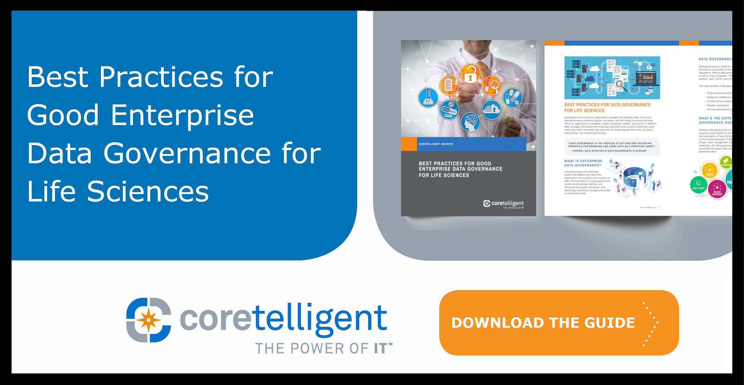 Best Practices for Good Enterprise Data Governance for Life Sciences