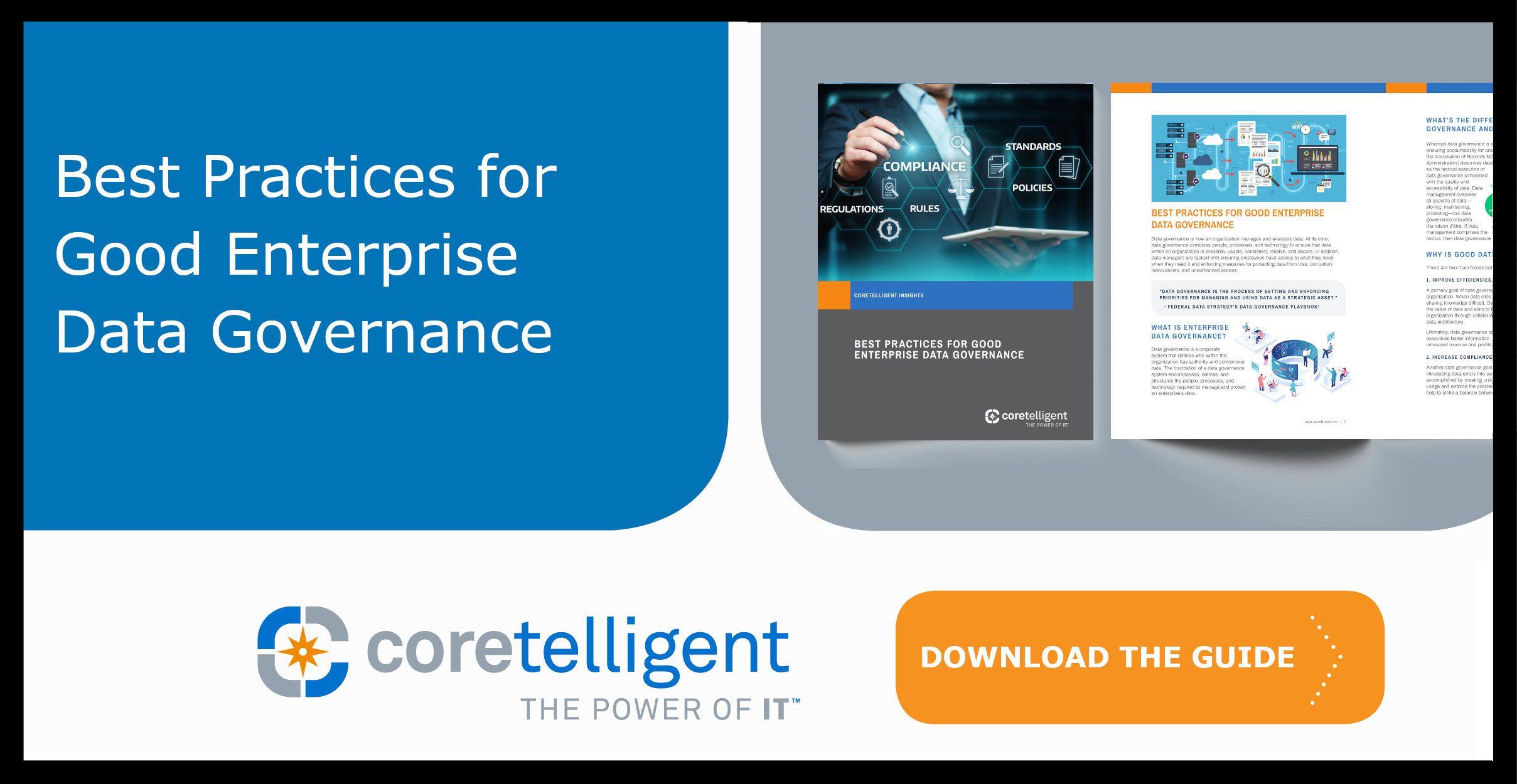 Best Practices for Good Enterprise Data Governance